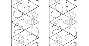 earth tri hexaflexagons momgineer