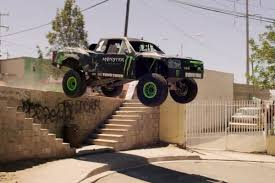 hoonigan truck recoil 2 u2013 bj baldwin and his 850 hp truck going wild in ensenada