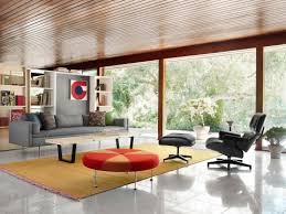 Eames Chair Living Room Eames Lounge And Ottoman Lounge Chair Herman Miller