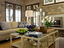 Decorating Ideas For Coffee Table Decorating A Coffee Table Hgtv S Decorating Design Hgtv
