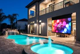 elite screens yard master manual series projector screen