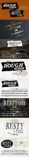 ca rusty nail ca rough rider font set a charming retro style