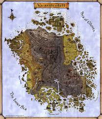 Bal Foyen Treasure Map 1 Morrowind The Imperial Library