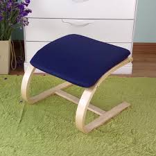 Round Chair Name Aliexpress Com Buy Comfortable Wooden Footstool Ottoman Chair