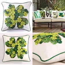 applique in cotto canvas solid pattern traditional home décor pillows ebay