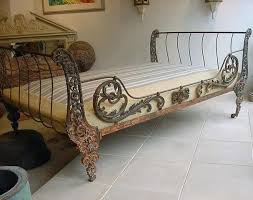 Wrought Iron Daybed Gorgeous Wrought Iron Setting Wrought Iron Daybeds Uk Black