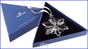 swarovski 2014 large snowflake annual ornament