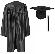 cap and gown for graduation graduationmall kindergarten graduation gown cap tassel
