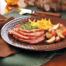 chagne baked ham recipe taste of home