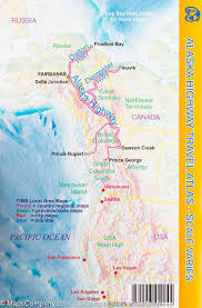 Alaska And Russia Map by Pocket Travel Atlas Alaska Dempster And Dalton Highways Itm