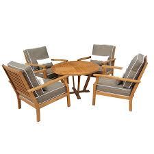 Patio Furniture Warehouse Sale by Mimosa 5pc Deep Seat Lounge Setting W Cushions I N 3240551