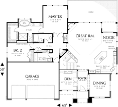 modern home floor plan plan 6966am modern prairie style home plan house room ideas