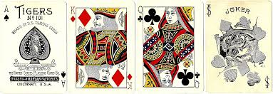 Joker Playing Card Designs Tigers No 101 The World Of Playing Cards