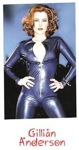 Gillian Anderson Latex - gillian anderson x files http unitarduniverse com wp content