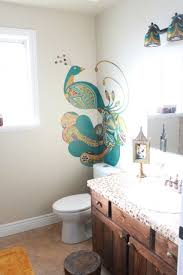 peacock bathroom ideas 24 best peacock n images on bathroom ideas bathrooms