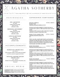 Original Resume Design 11 Best Agatha Sotherby Resume Template Images On Pinterest