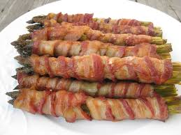 asparagus thanksgiving roasted bacon wrapped asparagus beachloverkitchen