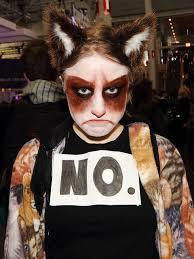 Cat Costumes Halloween Grumpy Cat Costume Halloween Grumpy Cat Costume