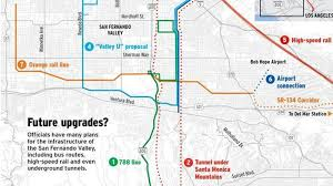 Bus Map Los Angeles by All The Ways You Might Be Able To Get To The Valley One Day