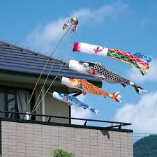flag decorations for home japan koinobori carp streamers japanese style home decorations