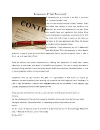 components of loan agreement