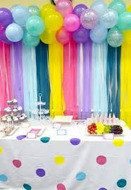 streamer backdrop 50 pretty balloon decoration ideas for creative juice
