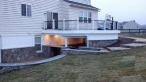 backyard deck ideas holloway company