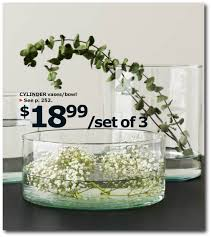 Set Of 3 Cylinder Vases 28 Of The Best Finds From The 2015 Ikea Collection