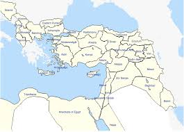 Provinces Of The Ottoman Empire Vilayets Provinces Of The Ottoman Empire Circa 1885 1104x794