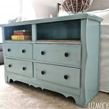 shabby chic dresser with burlap shelves dressers tip junkie