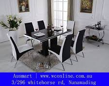 Dining Furniture Sets EBay - Glass top dining table adelaide