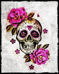 skull and roses style favorit and