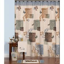 Shower Curtains With Matching Accessories Faith Wisdom And Bath Collection