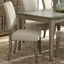 Upholstered Dining Room Chair by Dining Chair Fabric Nailhead Dining Chairs Benchwright Nailhead