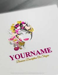makeup artist online free logo maker online makeup artist logo design