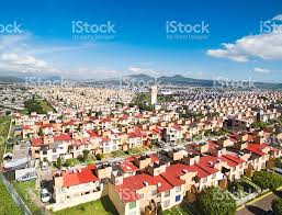 aerial view of houses in mexico stock photo 611761420 istock