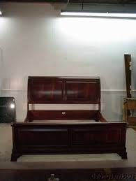 Ethan Allen Sleigh Bed Thomasville Irving Park Collection King Size Sleigh Bed 41711 576