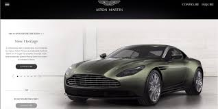 used aston martin ad how would you order the aston martin db11 of your dreams