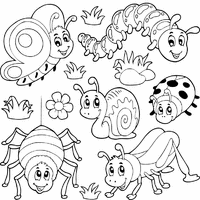 preschool coloring pages bugs bug coloring pages for preschool extraordinary 77 comfortable bugs