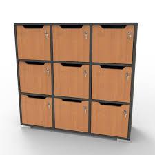 meuble bureau rangement meuble de rangement bureau et vestiaires meuble a casier en bois