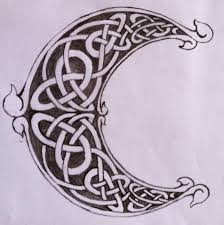 9 best crescent moon celtic chest images on