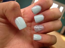 acrylic nailsgjg nails pinterest silver acrylic nails