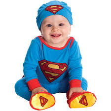 Baby Boy Halloween Costumes Superman Infant Boys Onesie Halloween Costume Walmart