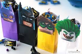 batman birthday party ideas the lego batman diy party treat bags free printable favor bags