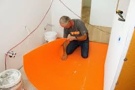 Marble Tile For Bathroom Prepping A Bathroom Floor For Tile Jlc Online Tile Bath