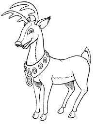 14 reindeer coloring schneeflocken malvorlagen