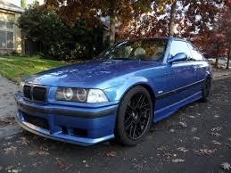 bmw e36 m3 estoril blue fs or ft ca 1999 bmw e36 m3 estoril blue 109k