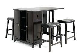 modern pub table set pub bar table set studio aurora 5 piece dark brown modern pub table