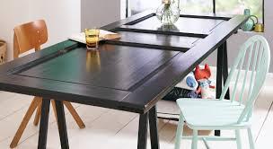 upcycling une table avec une porte prima