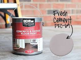 how to paint a concrete patio floor 7thhouseontheleft com
